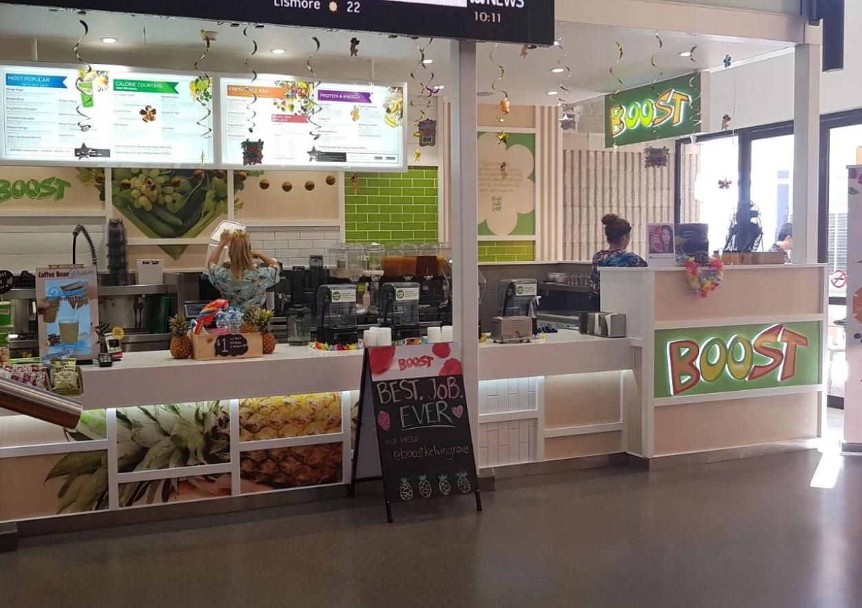 QUT Kelvin Grove, QLD – Existing Store