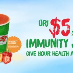 $5 Immunity Juice