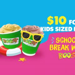 School Break with Boost!