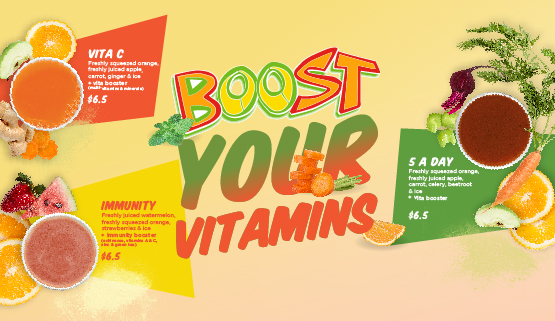 Boost Your Vitamins!