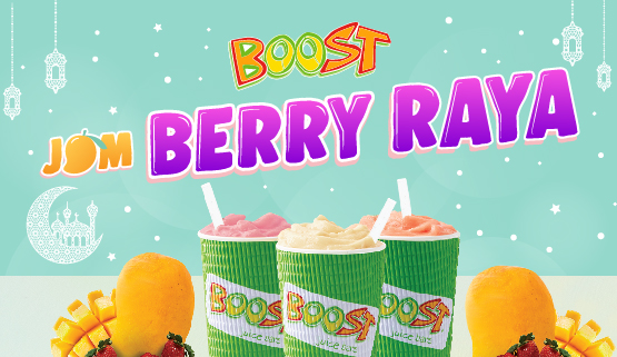 Jom Berry Raya with Boost!