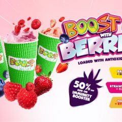 Boost Up with Berries!