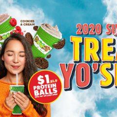 2020 sucks? Treat Yo'self!